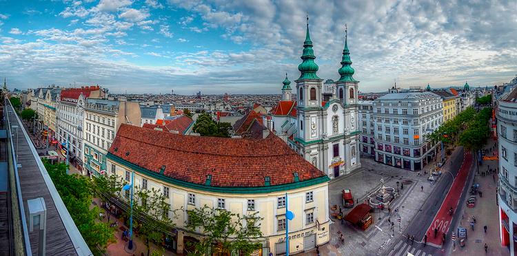 тур Вена Будапешт